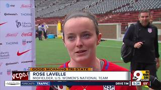 For Rose Lavelle, this week's U.S. Women's National Team friendly has been a long time coming - Video