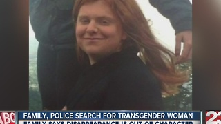 Family, police search for transgender woman - Video