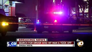 Search for hit-and-run driver in Chula Vista