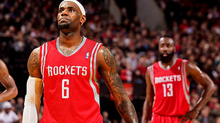 LeBron James JOINING Chris Paul & James Harden in Houston Next Season!? - Video