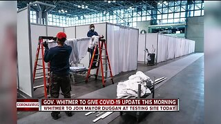 Gov. Whitmer to give COVID-19 update