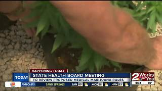 Oklahoma State Health Board to review proposed rules on medical marijuana