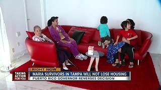 Puerto Rico governor agrees to extend housing assistance for Hurricane Maria victims - Video