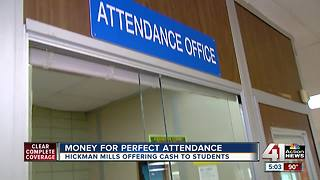 Hickman Mills School District offers cash to those in class