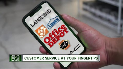 Text a retailer and you could get back money and time