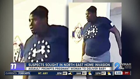 Pregnant woman attacked in Cecil County home invasion, suspect sought in three states