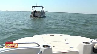 Freedom Boat takes The Morning Blend out on the water