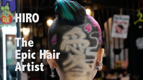 Hipster Hairdresser Transforms People's Heads Creating Cutting Edge Styles