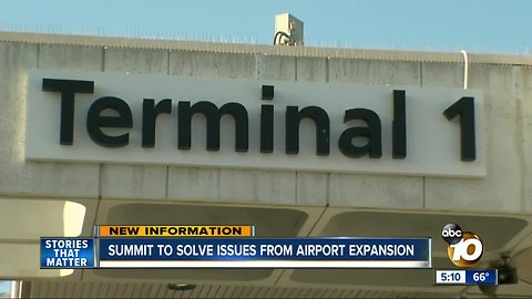 Summit to solve airport expansion issues