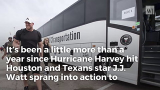 J.J. Watt's Hurricane Harvey Relief Funds Officially Shatters World Record
