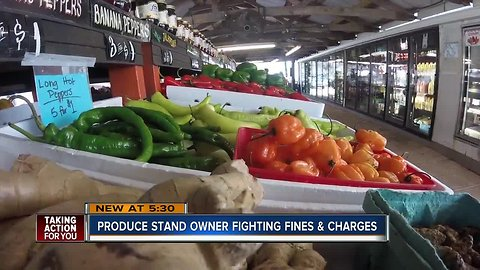 Bearss Groves produce market fined by county, owner faces noise violation charge
