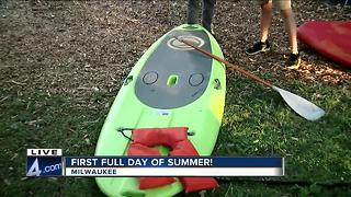 PREVIEW: Wheel Fun Rentals along Milwaukee's lakefont - Video