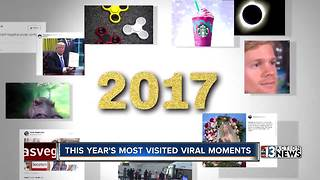 The most viral moments in 2017 - Video