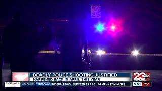 Deadly police shooting that happened in April justified