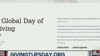 A global day of giving on Giving Tuesday - Video