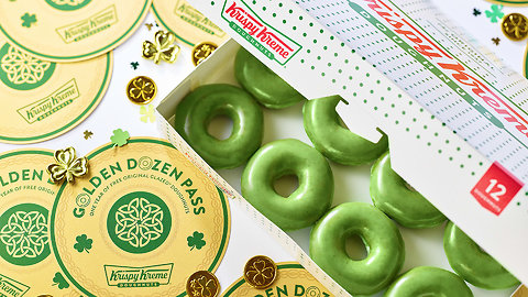You Could Win a Year of Free Donuts From Krispy Kreme!