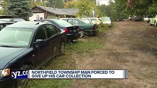 Man forced to give up his car collection - Video