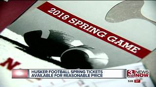 Husker spring game secondary ticket prices drop - Video