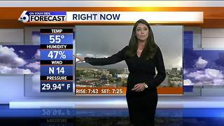 Karen Lehr's On Your Side Forecast: Sunday, October 1, 2017 - Video
