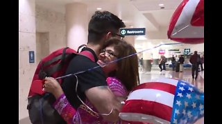 Local Navy sailor returns home after two years