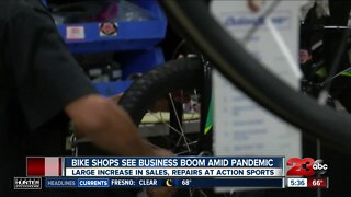 Bike shops see business boom amid pandemic