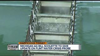 Update on Flint water crisis probe expected today - Video