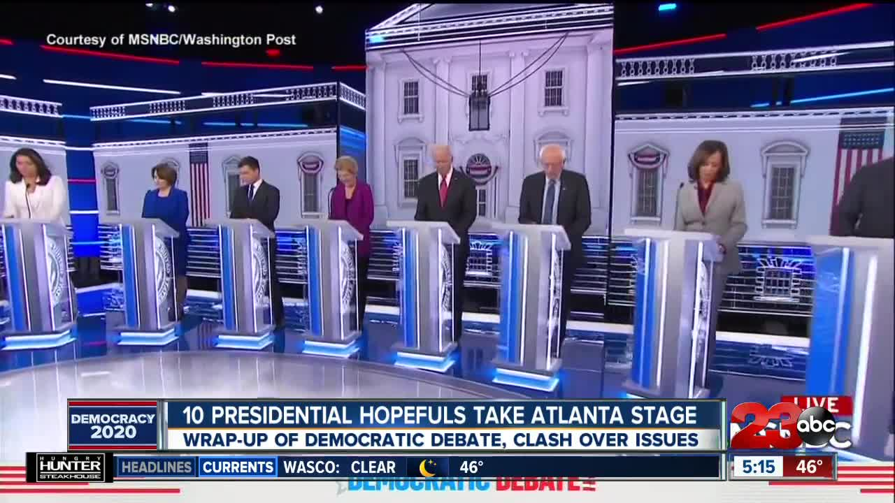 10 Presidential Hopefuls Take Atlanta Stage