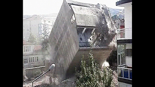 Building Demolition Goes Wrong - Video