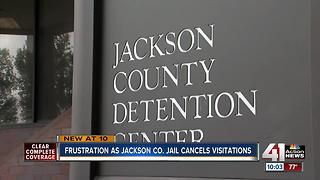 Jax Co. jail temporarily suspends visitations - Video