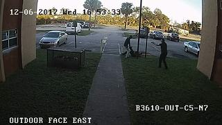 Surveillance video shows BSO deputy-involved shooting - Video