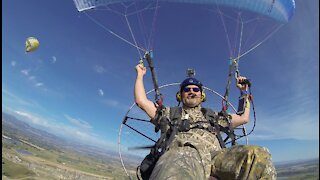 CamoCraig (Craig Carson) First Ever Paramotor Launch