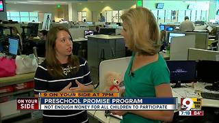 Not enough money for all children in Preschool Promise - Video