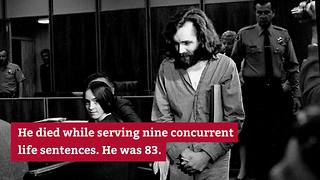 Charles Manson dead at 83 - Video
