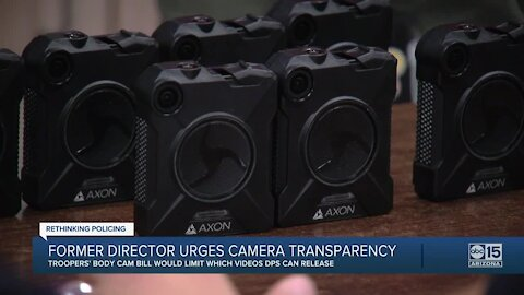 Ex-DPS director urges transparency, warns against video secrecy in body-cam bill