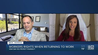 Workers rights when returning to work