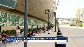 First concert takes place inside Fiserv Forum - Video