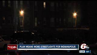 Streetlight funding approved in Indianapolis - Video