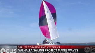 Valhalla Sailing Project puts Annapolis Veterans on the Water - Video