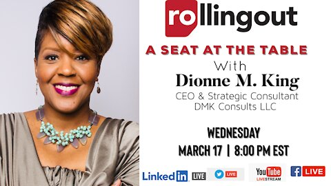 A Seat at the Table with Dionne M. King