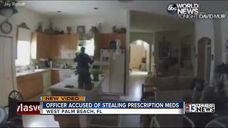 Video shows officer stealing medication - Video