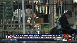Suicide Prevention and Awareness Month begins