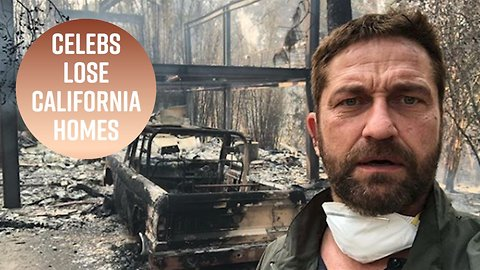 Celebrity homes burn down in California fires