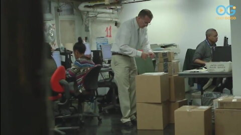 USPS Chief Elf Answers Children's Letters To Santa