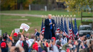 Trump Receives Massive Support In Areas With Worst COVID-19 Surges