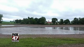 Crews working to prevent Ingham Co. roads from flooding