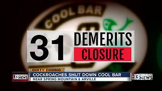 Cool Bar, Mixx Grill and Rusty Spur on Dirty Dining  Darcy Spears - Video