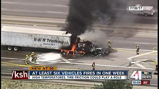Truck drivers talk safety after fiery crashes - Video
