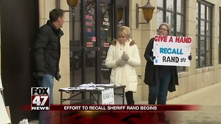Campaign to recall Jackson County sheriff underway