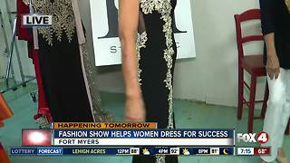Dress for Success Fashion Show - Video