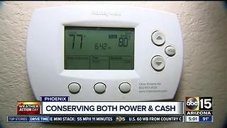 Conserve both power and cash during the summer - Video